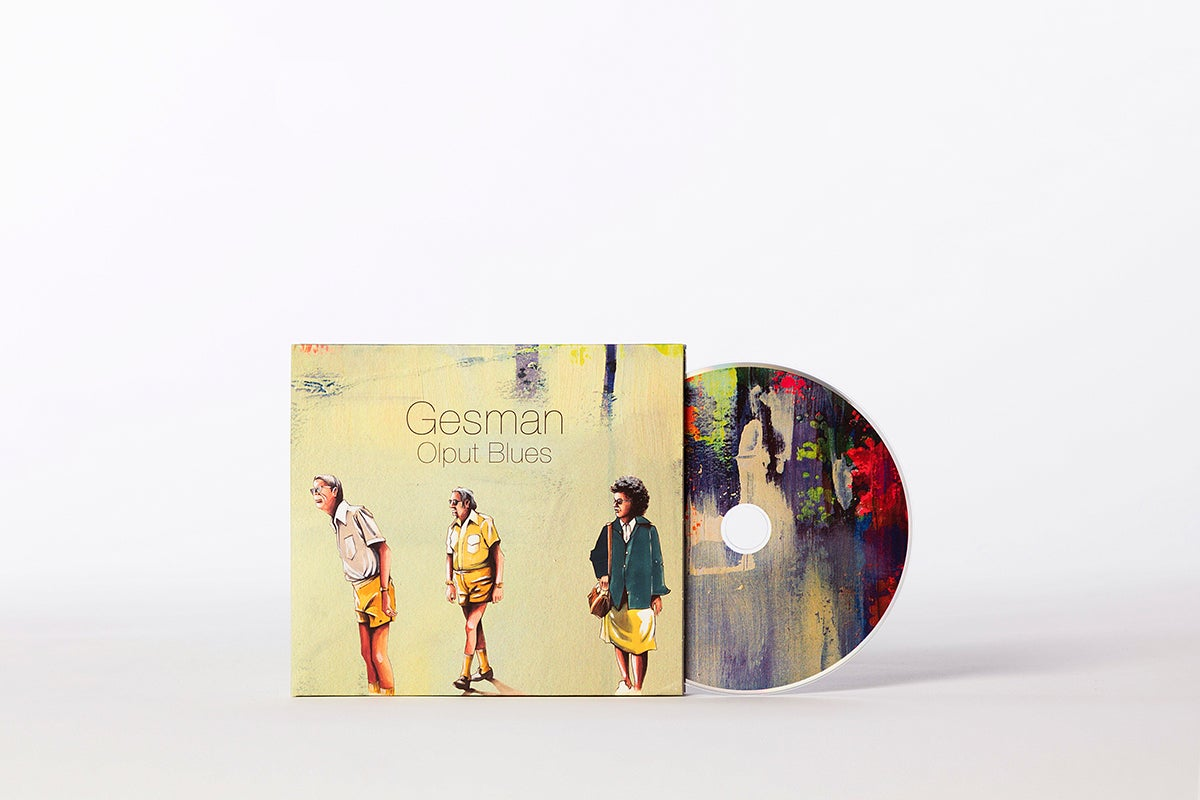 Image of Gesman - Olput Blues (CD)