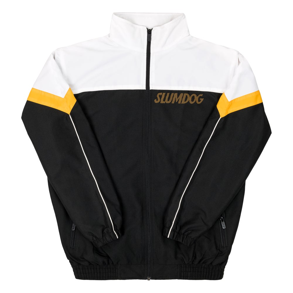 Image of TRACK JACKET <br> YELLOW GOLD
