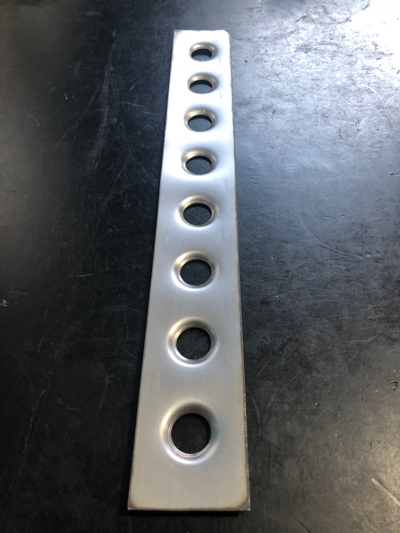 Image of Roll Cage Dimple Die Gusset Strip 19mm/ 3/4""