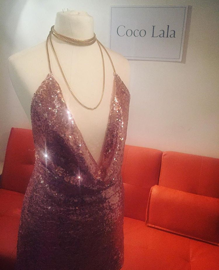 Image of Diamond Light Pink Dress