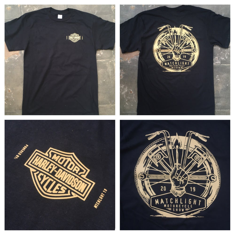 Image of Matchlight 19 X Harley-Davidson T-shirt