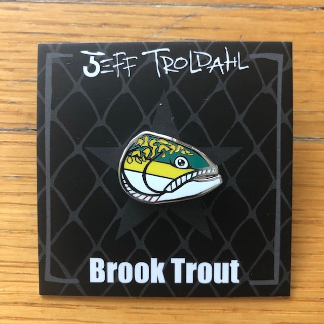 Image of Brook Trout Hat/Lapel Pin