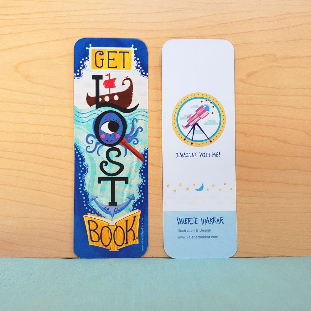 Image of Get Lost in a Book! Fantasy Bookmark