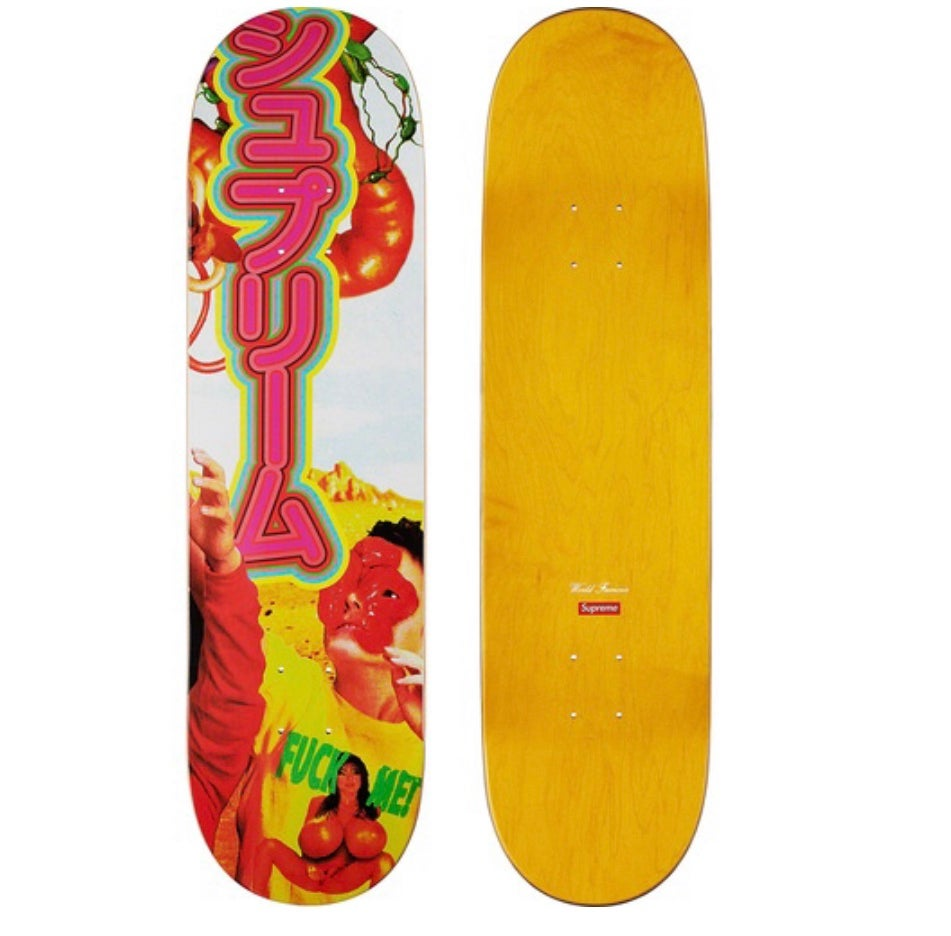 Image of Supreme x Sekintani La Norihiro Deck w/ 5 Supreme Stickers