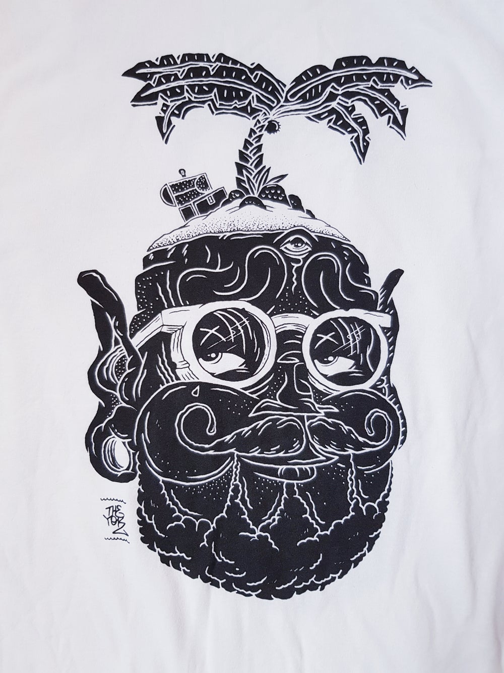 "Image of Yok ""No Man's Paradise"" Tee"