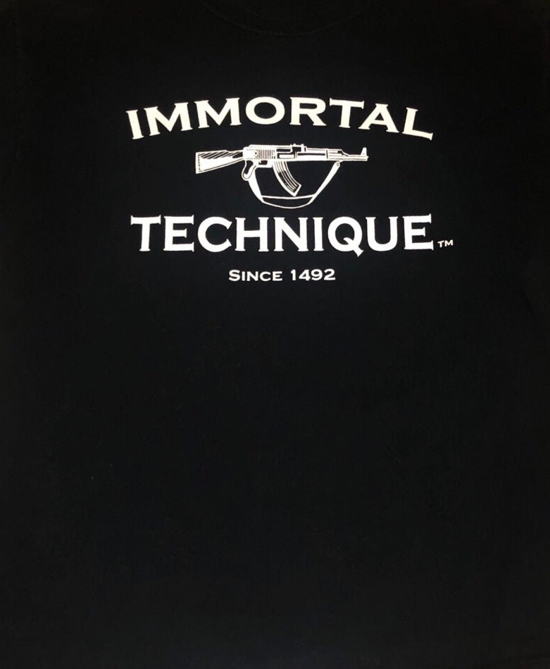 Image of 2008 Immortal Technique Since 1492 T-Shirt (Large)
