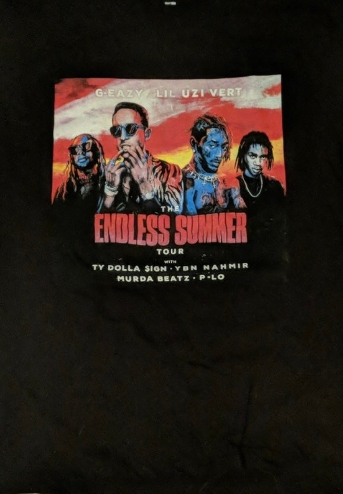 Image of G-Eazy Endless Summer Tour T-Shirt (Large)