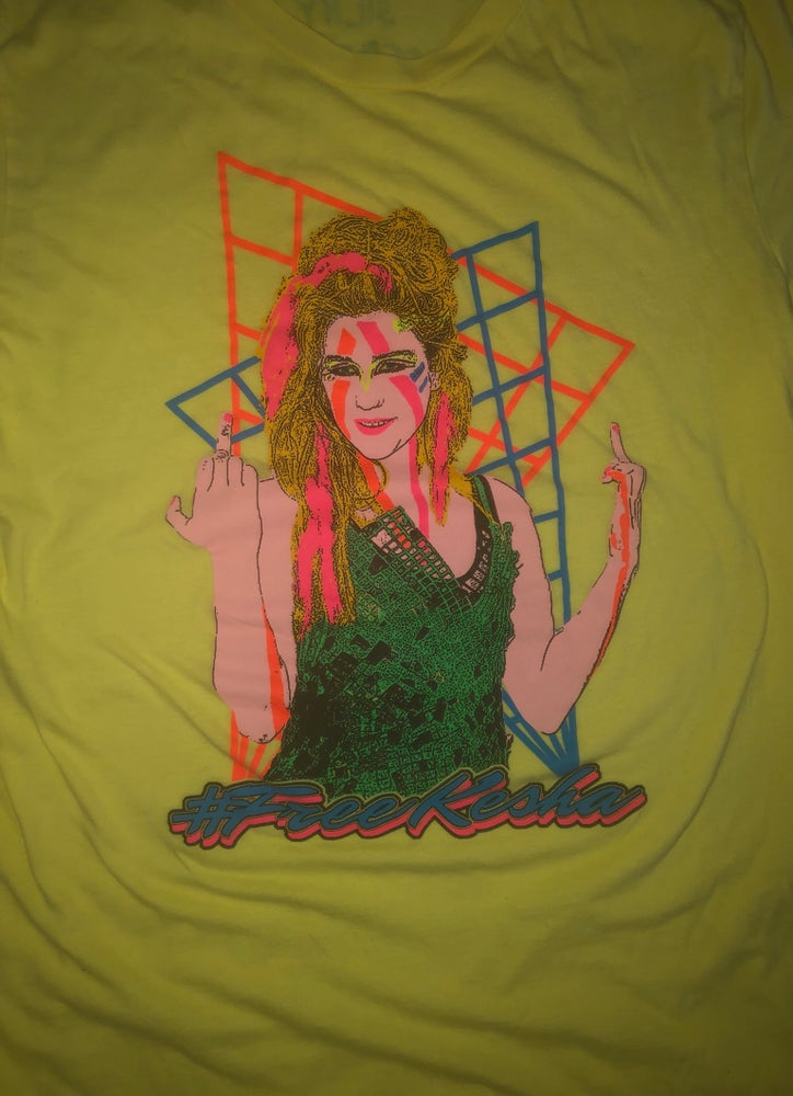 Image of #FreeKesha T-Shirt (Large)