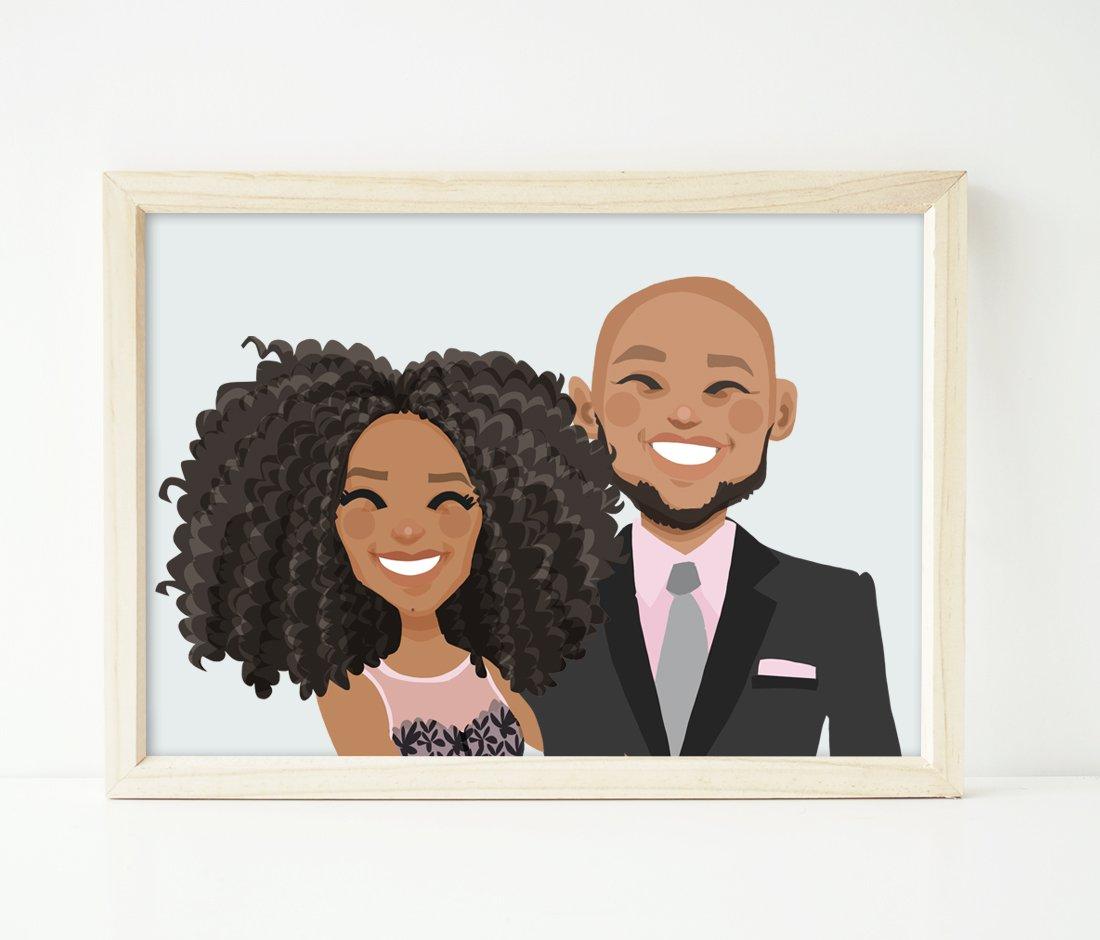Image of Couple headshot portrait