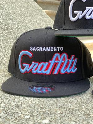 Sacramento Graffiti the City Snap Back Hats