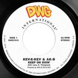 "Image of Kev-E-Kev & Ak-B 'Listen To The Man'/'Keep On Doin' 7"" REPRESS PRE ORDER"