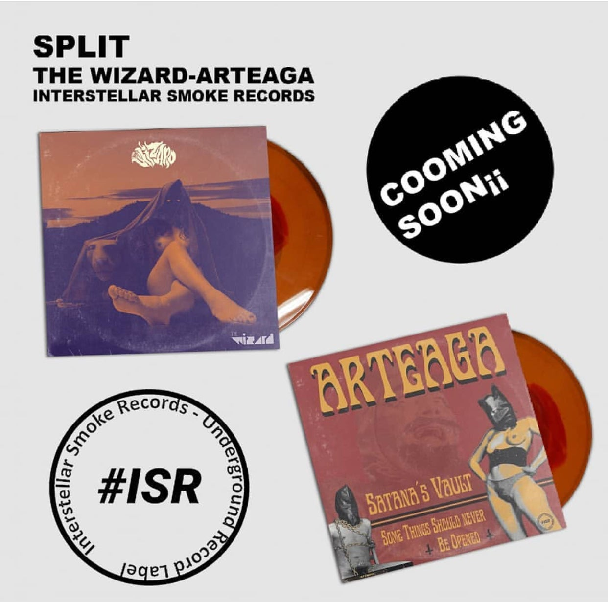 "Image of The Wizard / ARTEAGA ""Split"""