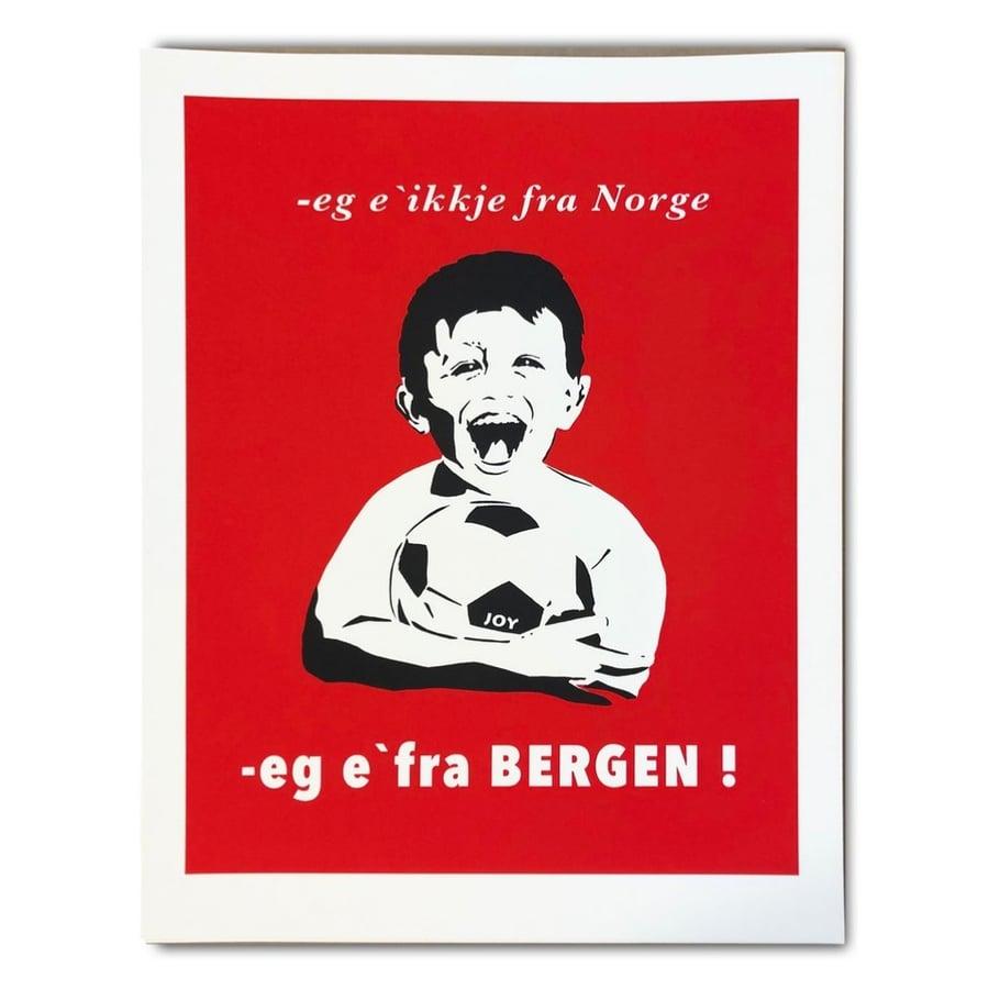 Image of JOY - Eg é ikkje fra Norge, eg é fra BERGEN
