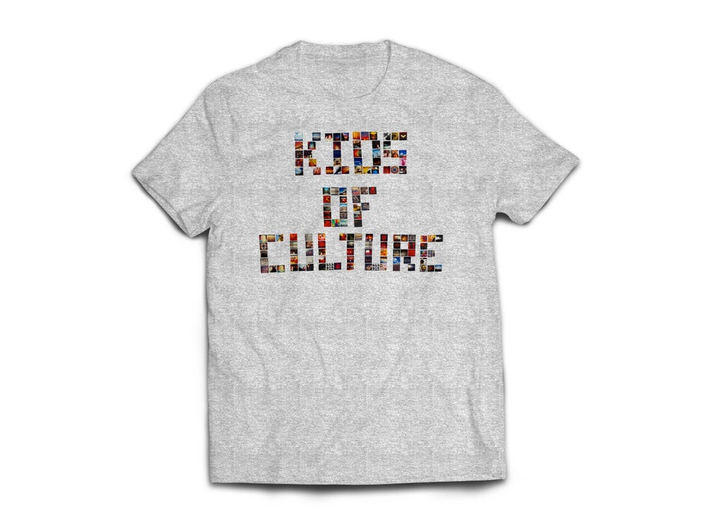"Image of Grey ""KiDs oF CuLTuRe"" Tee"