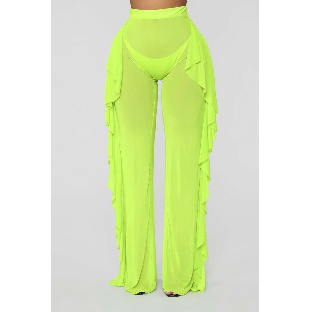Image of Flare Lime Green