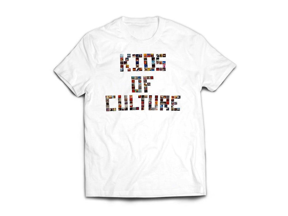 "Image of White ""KiDs oF CuLTuRe"" Tee"