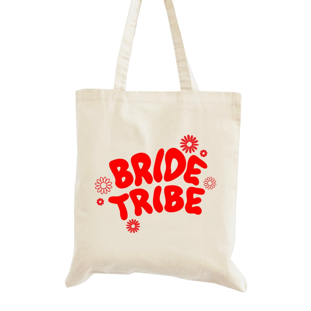 Image of Groovy Bride Tribe Tote Bag