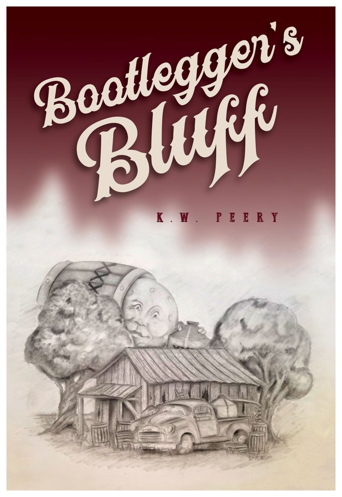 Image of Bootlegger's Bluff (Limited Edition Gig Poster) Original Artwork by Bruce McClain