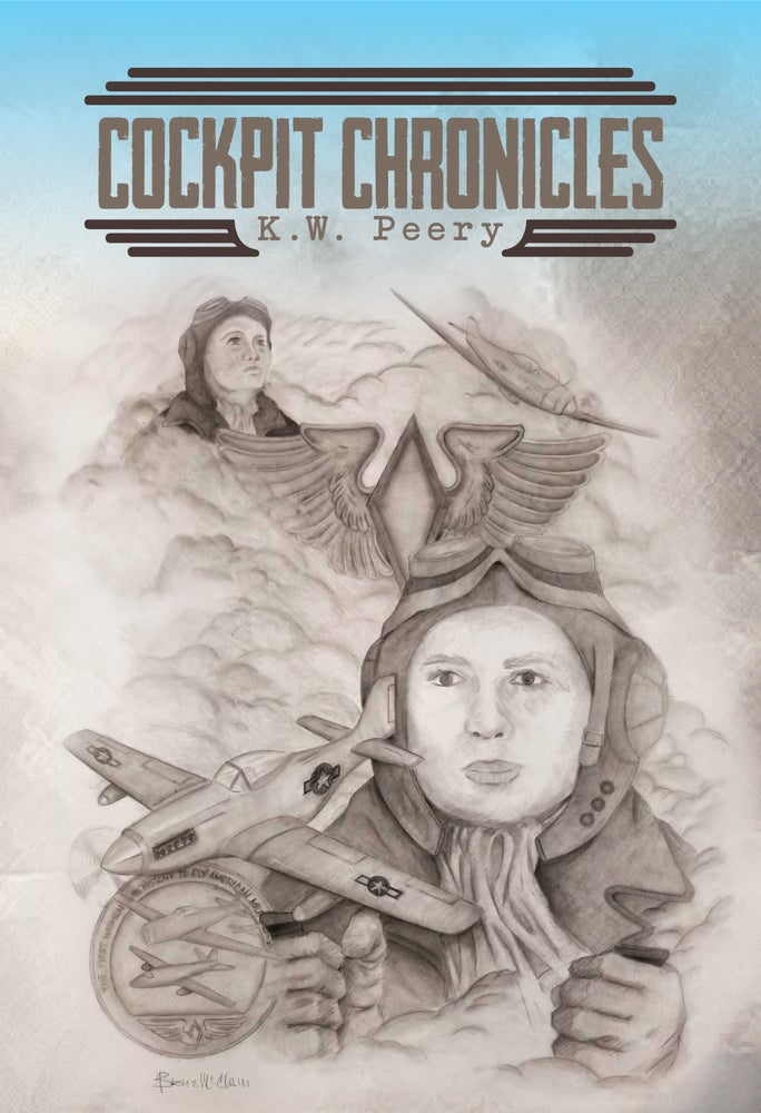 Image of Cockpit Chronicles (Limited Edition Gig Poster) Original Artwork by Bruce McClain