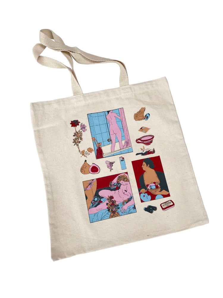 Image of Permanent Collection tote bag