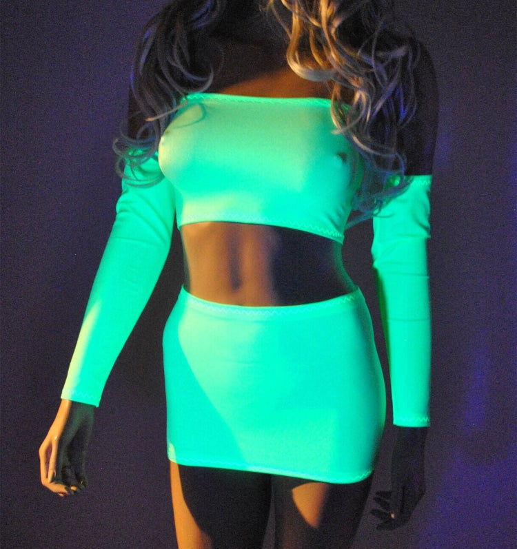 Image of Glow up - UV Lime Green (Glow in the Dark)
