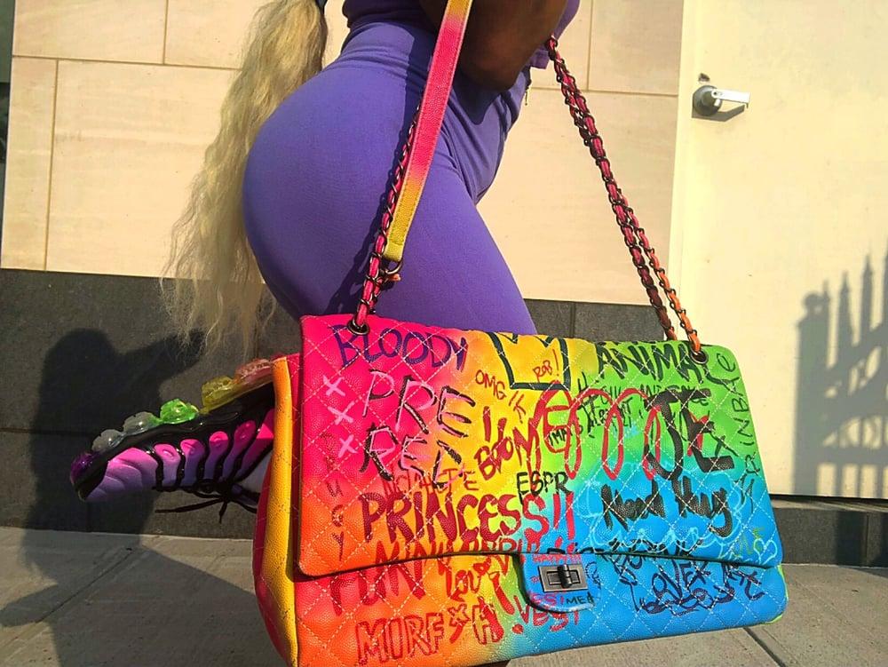 """Image of """"Poppy"""" Weekend Bag"""