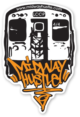 Image of Midway Hustle Stick 'em Up PACK of 4