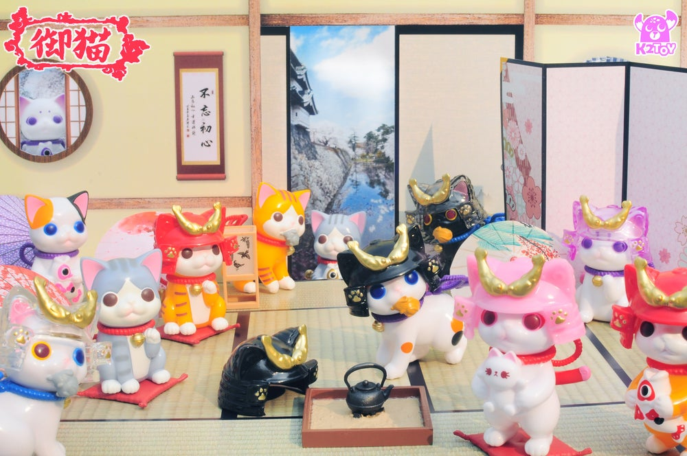 Image of Ohonneko Blind Box 御貓盲盒