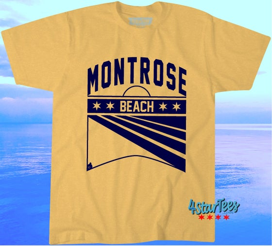 Image of MONTROSE BEACH *PREORDER TIL AUGUST 12th - UNISEX HEATHER ORANGE