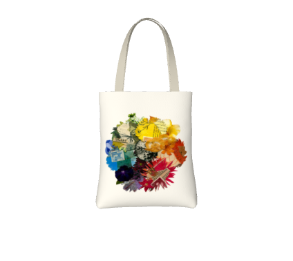 Image of Colour Wheel tote bag