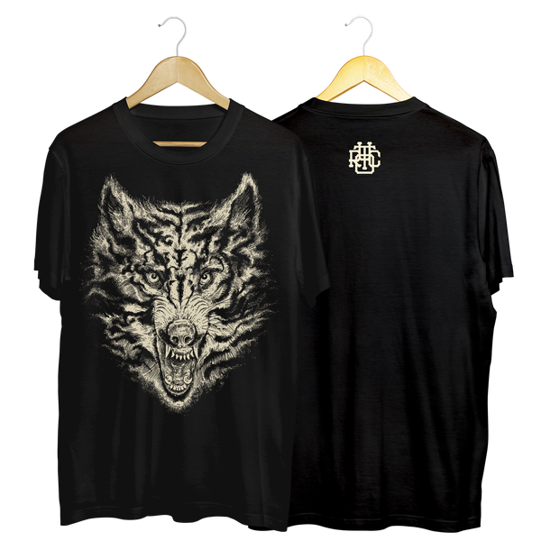 "Image of ""LONTANO"" Tshirt black"
