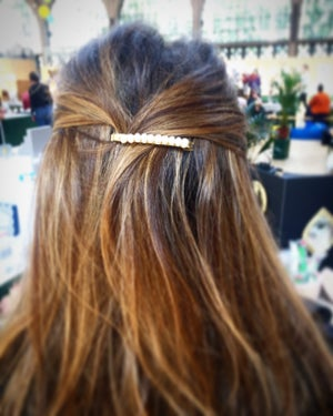 Image of BARRETTE Nacre baroque