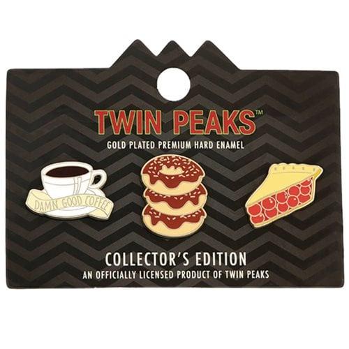 Image of Twin Peaks Enamel Lapel Pin 3-Pack