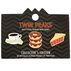 Image of Twin Peaks Enamel Lapel Pin 3-Pack
