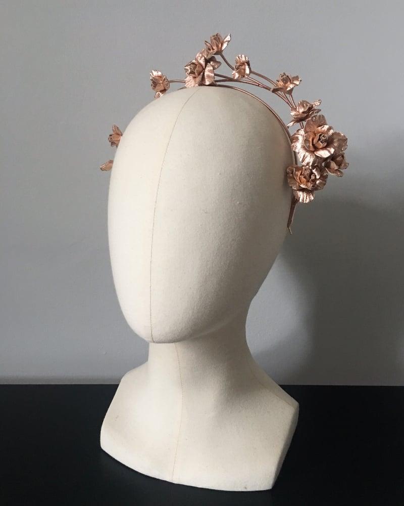 Image of ROSE GOLD ROSE VINE