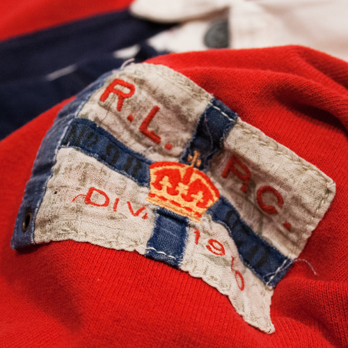Image of Polo Ralph Lauren Vintage Rugby Shirt Size XXL
