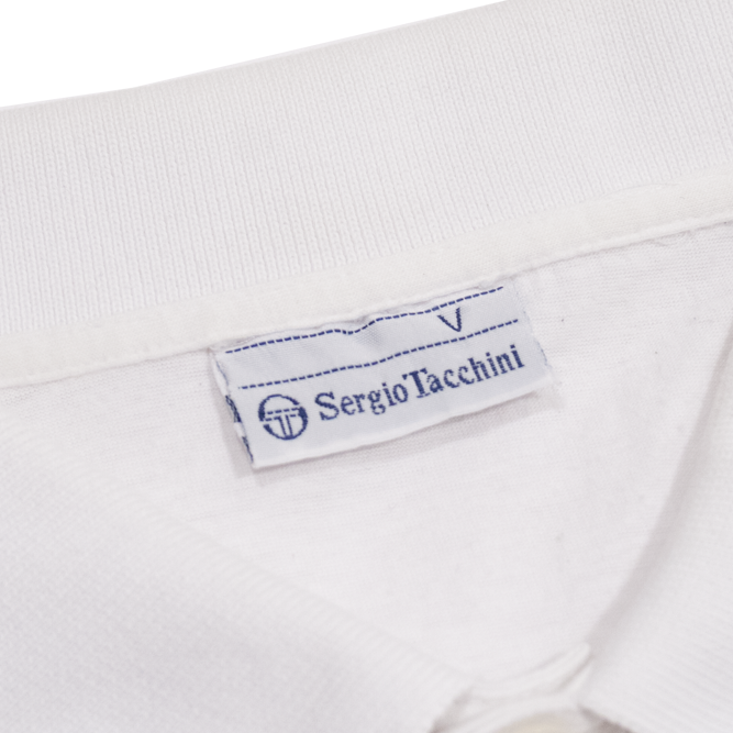 Image of Sergio Tacchini Vintage Tennis Polo Shirt