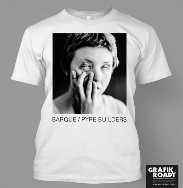 Image of Pyre Builders - white or grey shirt