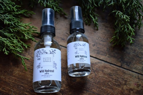 Image of Wild Juniper Hydrosol | small batch | wildcrafted | plant water