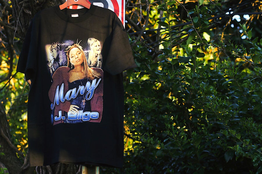 "Image of Rare 90's Vintage ""MARY J. BLIGE"" Tour Rap Tee"