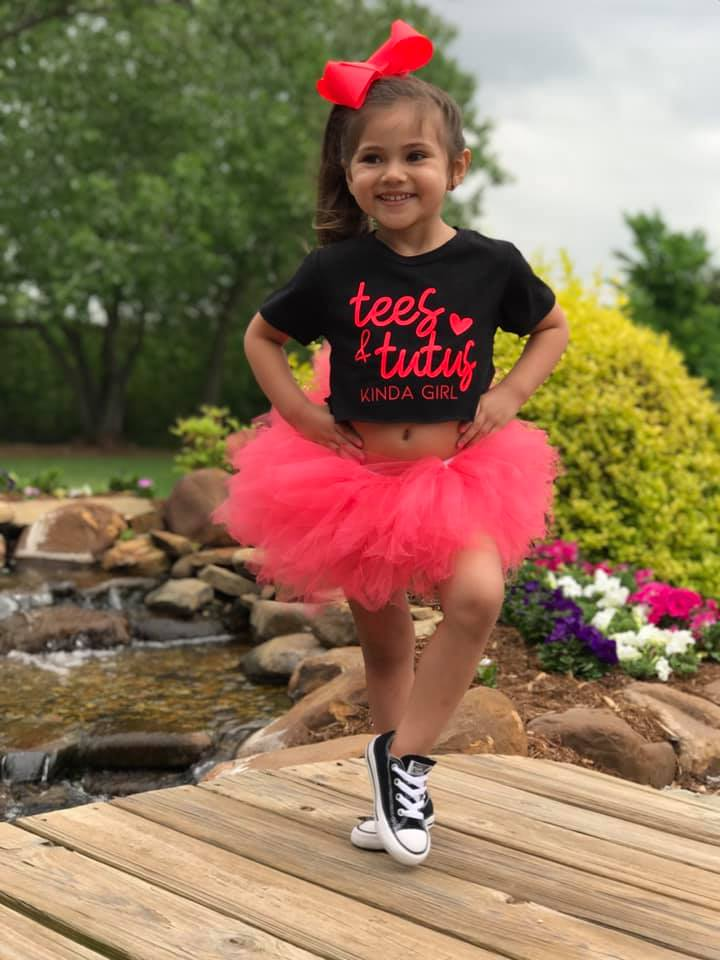 Image of Coral Tutu- Neon Collection