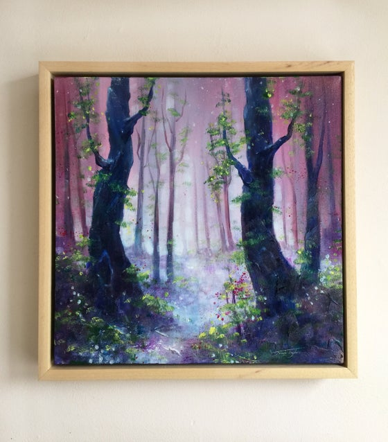Image of Woodland Whispers (Framed)