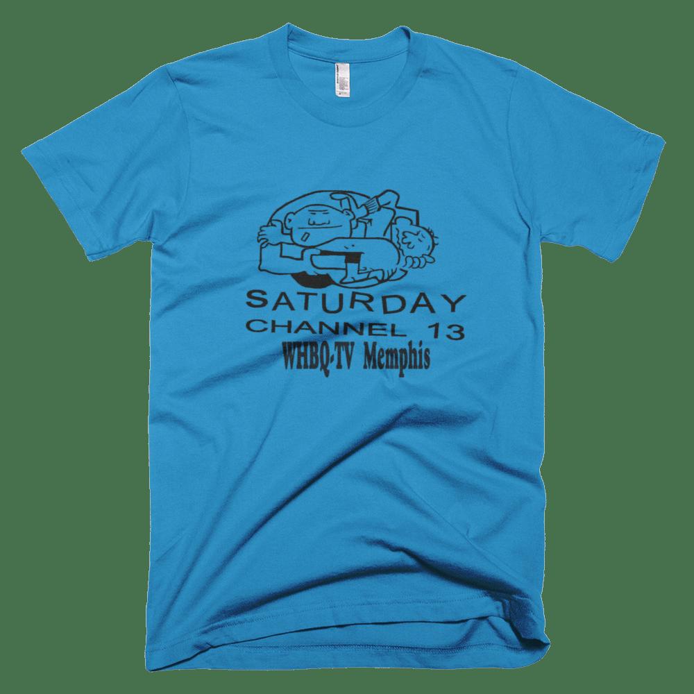 Image of WHBQ Saturday Morning Memphis Wrestling Shirt