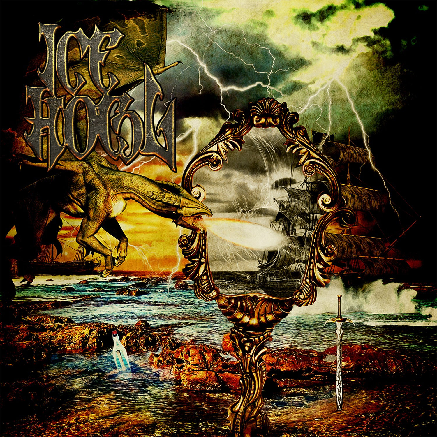 "Image of ICE HOWL EP ""CD"""