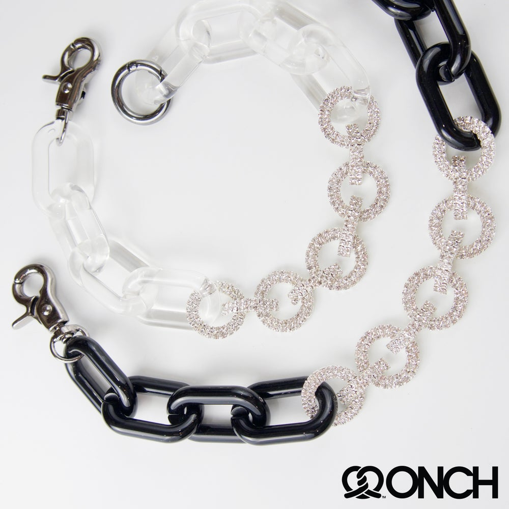 Image of Sparkle lucite chunky choker (online exclusive)