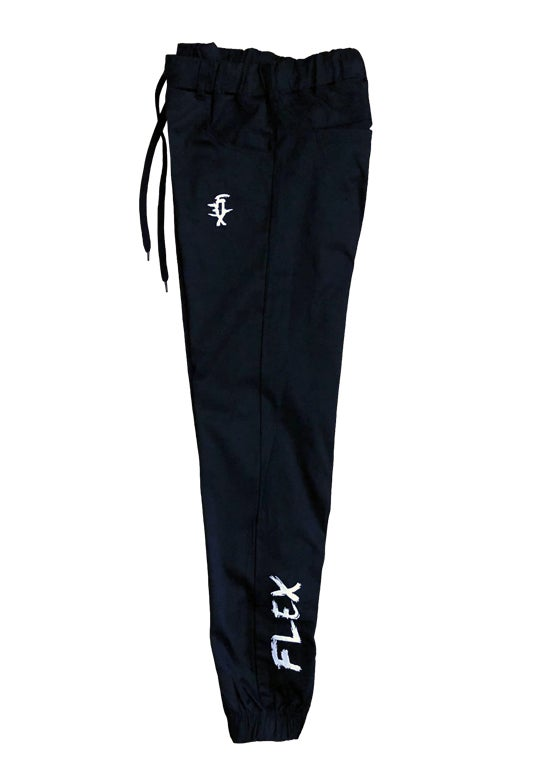 Image of 101 Twill Joggers - Black