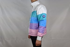 Image of Pastel Puffer Jacket