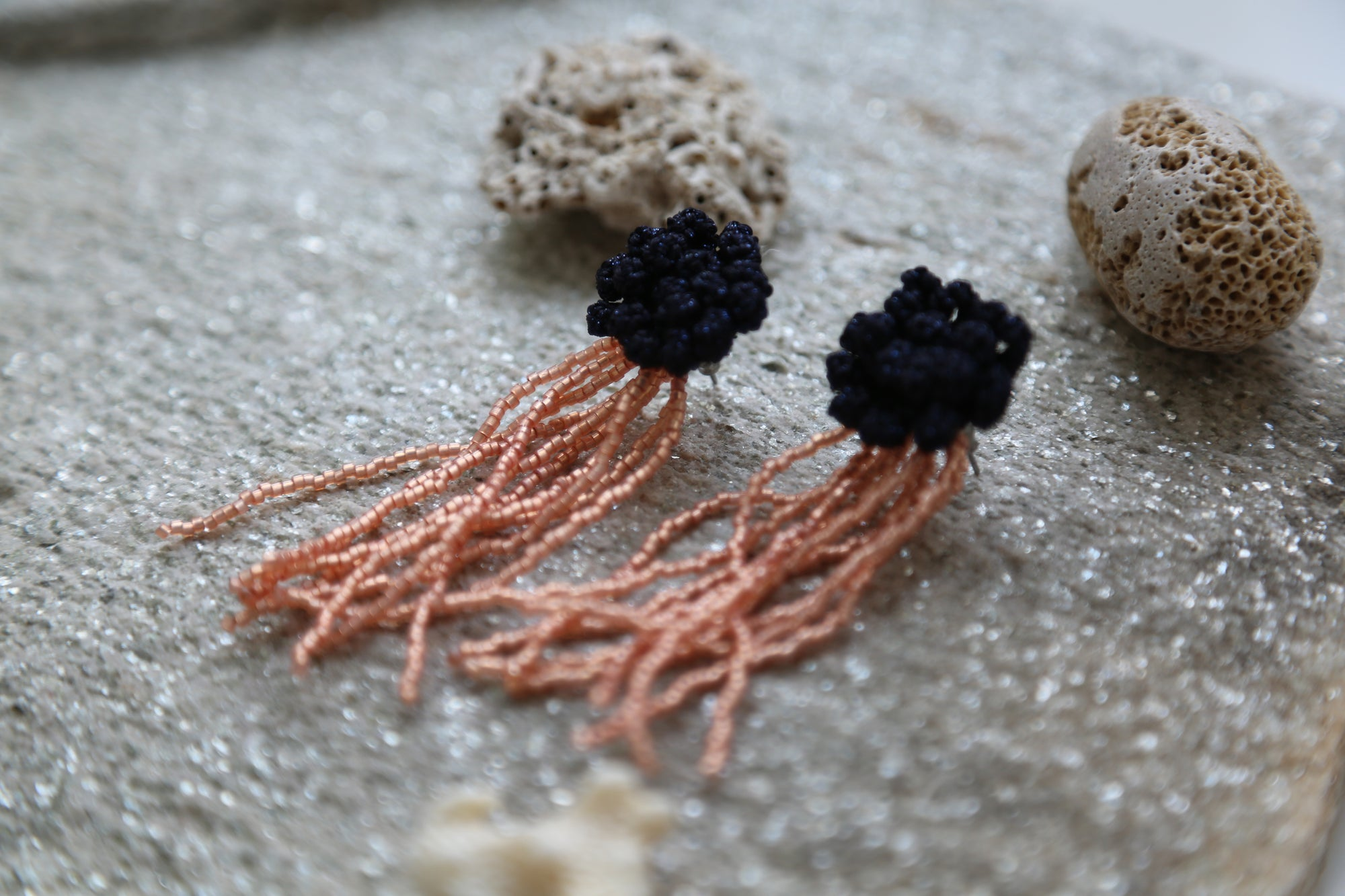 Image of Night Sky Medusa Earrings