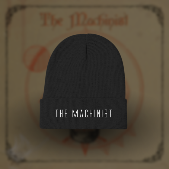 Image of The Machinist Black Beanie
