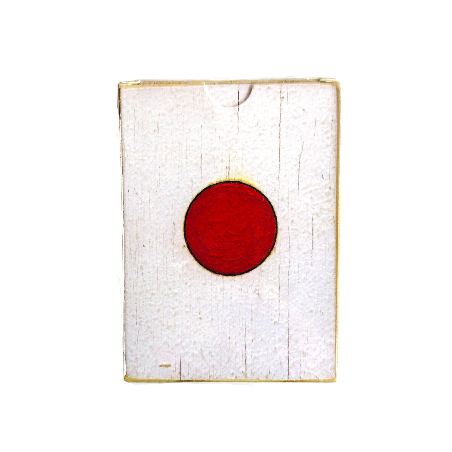 Image of Tom Sachs Japan Deck (White Plywood 2019 Edition) Playing Cards